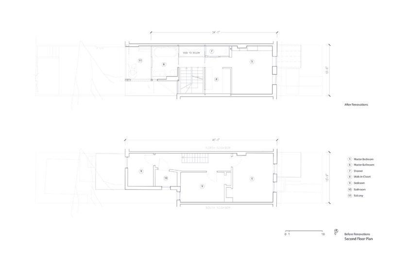 First floor plan. Courtesy of Aleph-Bau
