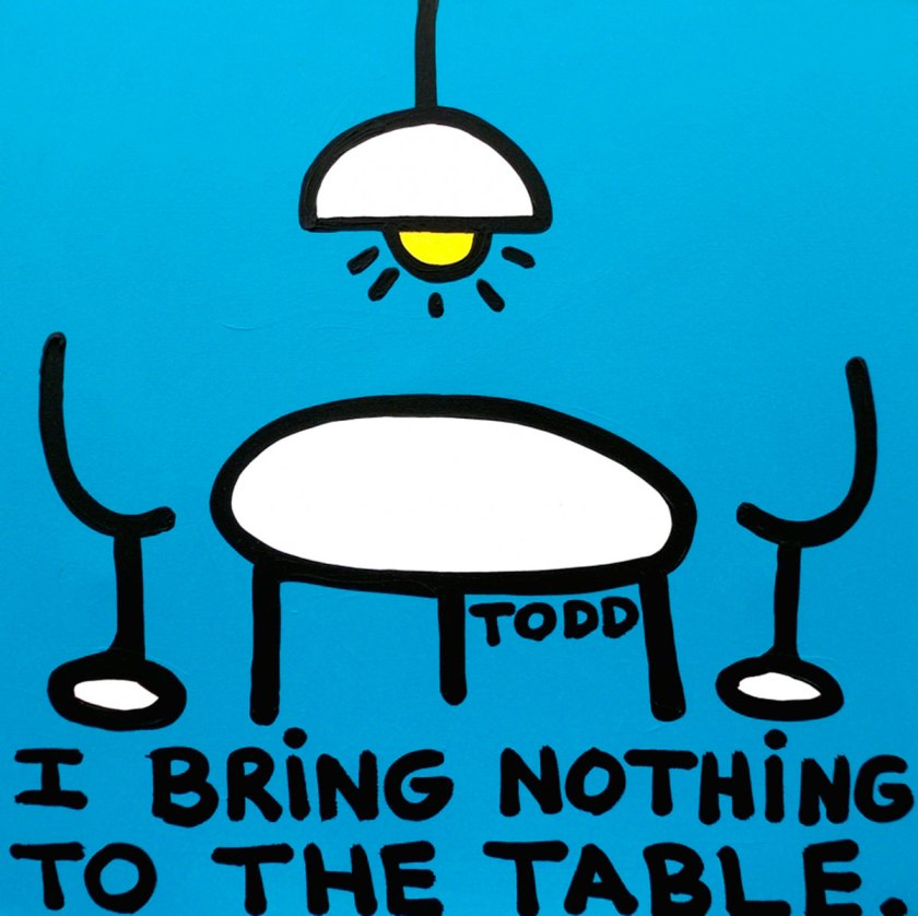 Nothing to the Table © Todd Goldman