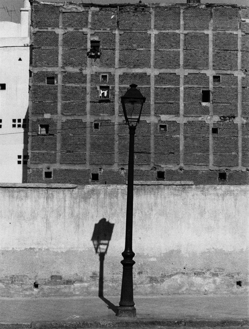 Francisco Gómez [Alrededores de la Avenida de América. Madrid], 1961 Gelatina de plata, copia de época, 24×18 cm © Archivo Paco Gómez / Fundación Foto Colectania