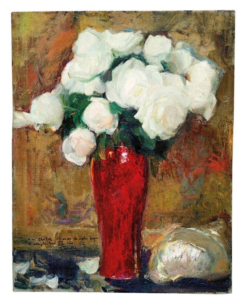 Sorolla-rosas-blancas