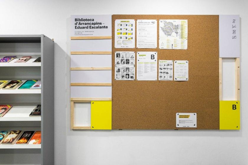 Título: Biblioteques Municipals de València Cliente: Servei d'Acció Cultural. Ajuntament de València. Diseño: nueve, The Graphic Bureau Estudio: nueve, The Graphic Bureau Fotografía: Álvaro Crivillés Producción: Digital Brand