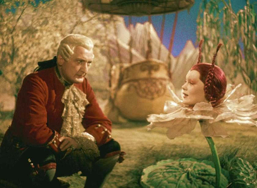 — El Barón y la Reina de la Luna de Las aventuras del Barón Munchausen. 1943 —