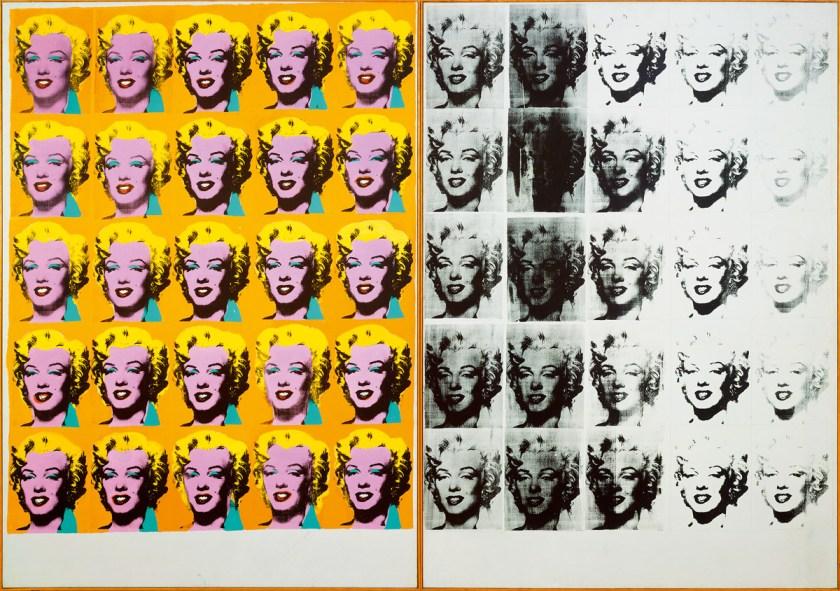 Andy-Warhol-Marilyn-Diptych