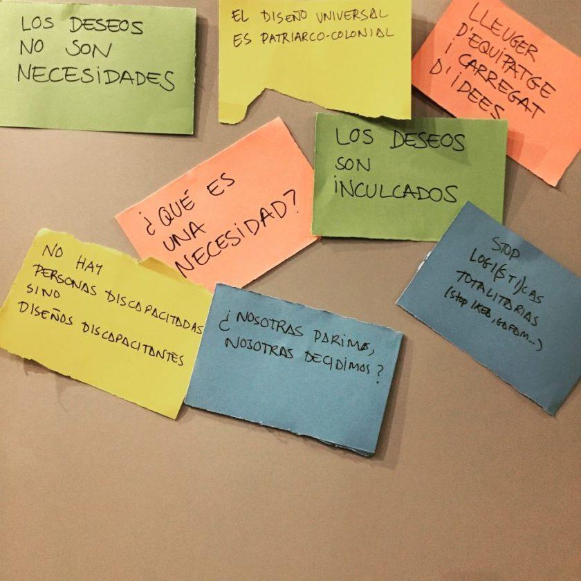 Dissenyar mons reals Responsables del proyecto : La caníbal SCCL Empresa : La caníbal SCCL // Museu del Disseny de Barcelona // Centros cívicos Pere Quart y Vil·la Urània Fotos : La caníbal SCCL