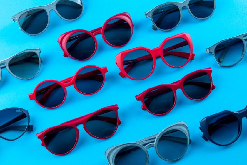 Gafas fabricadas mediante impresión 3D Diseño : Gafas Liq - Josep Mateo Muñoz Empresa : Gafas Liq