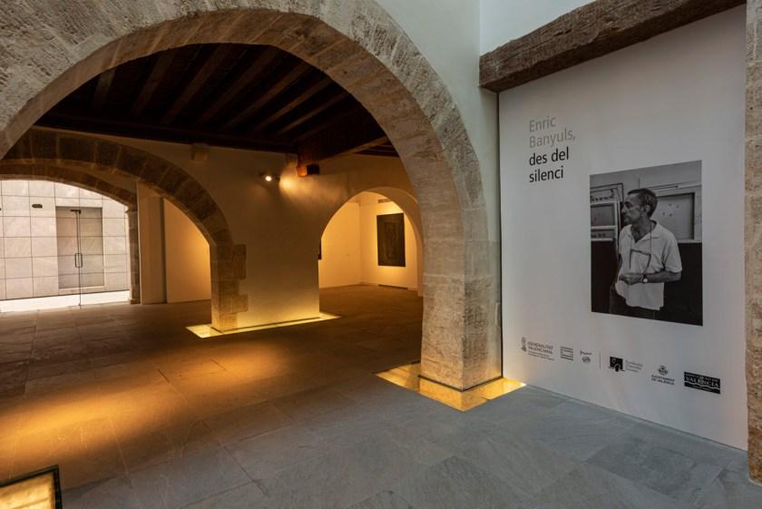"""Vista de la muestra """"Des del silenci"""", de Enric Banyuls. Foto: Cortesía de Fundación Chirivella Soriano y CMCV"""