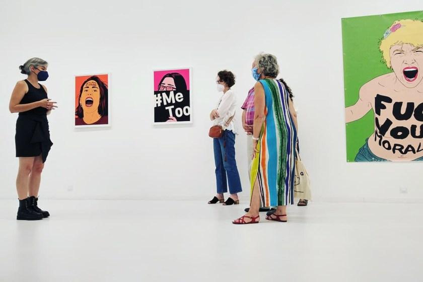 María María Acha-Kutscher, Indignadas, 2021