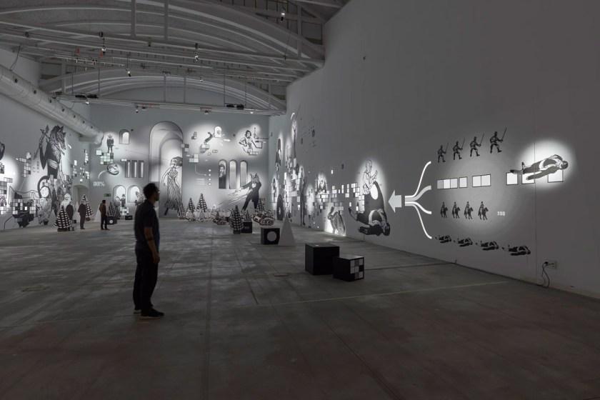 Mécaniques Discursives es una coproducción de LABoral Centro de Arte y L.E.V. Festival con el apoyo de la Fundación EDP España