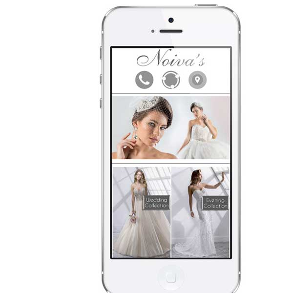 bridal dresses mobile app development in lebanon