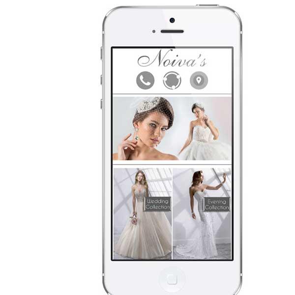 bridal dresses mobile app development in lebanon