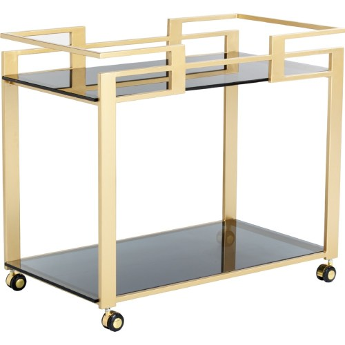Medium Of Gold Bar Cart
