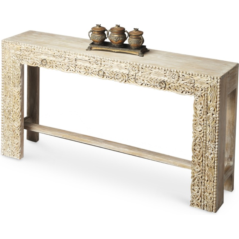 Large Of Wood Console Table