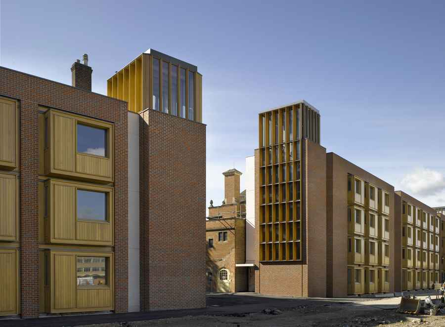 Beautiful Modern Architecture Oxford Somerville College For Design Inspiration