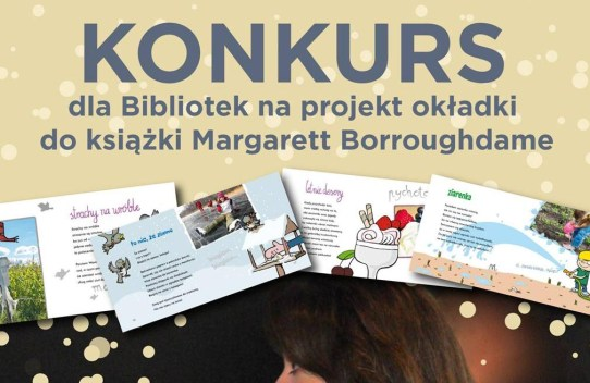 """Konkurs na projekt okładki książki """"Jesień plecień - album wierszy jesiennych dla dzieci"""""""