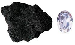 karbon kömür elmas