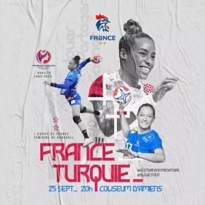 Affiche FRANCE TURQUIE