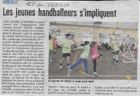 Courrier Picard Tournoi interne
