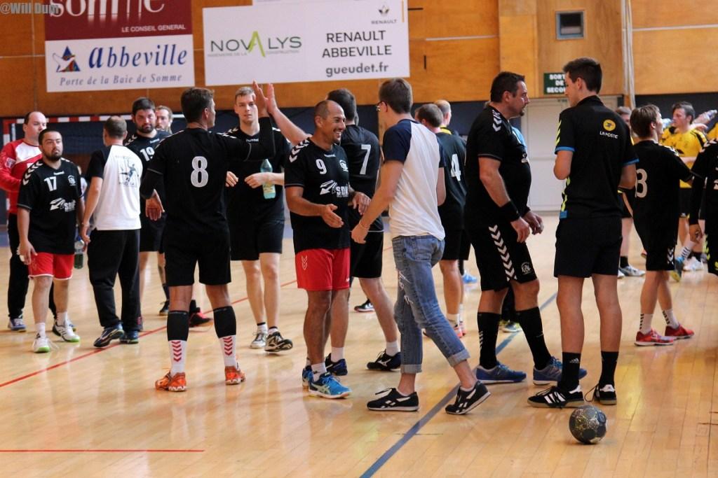 Séniors mecs B contre Nouvion (66)