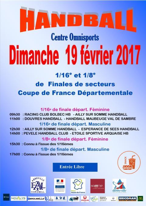 EAL Coupes de France Départ - 19 02 2017