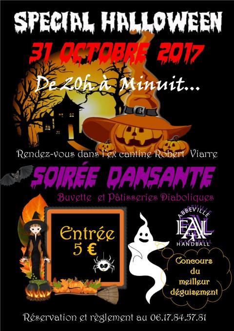 Affiche Halloween 31 10 2017
