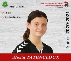 Alexia Tatencloux_Pole Espoir 2020-2021