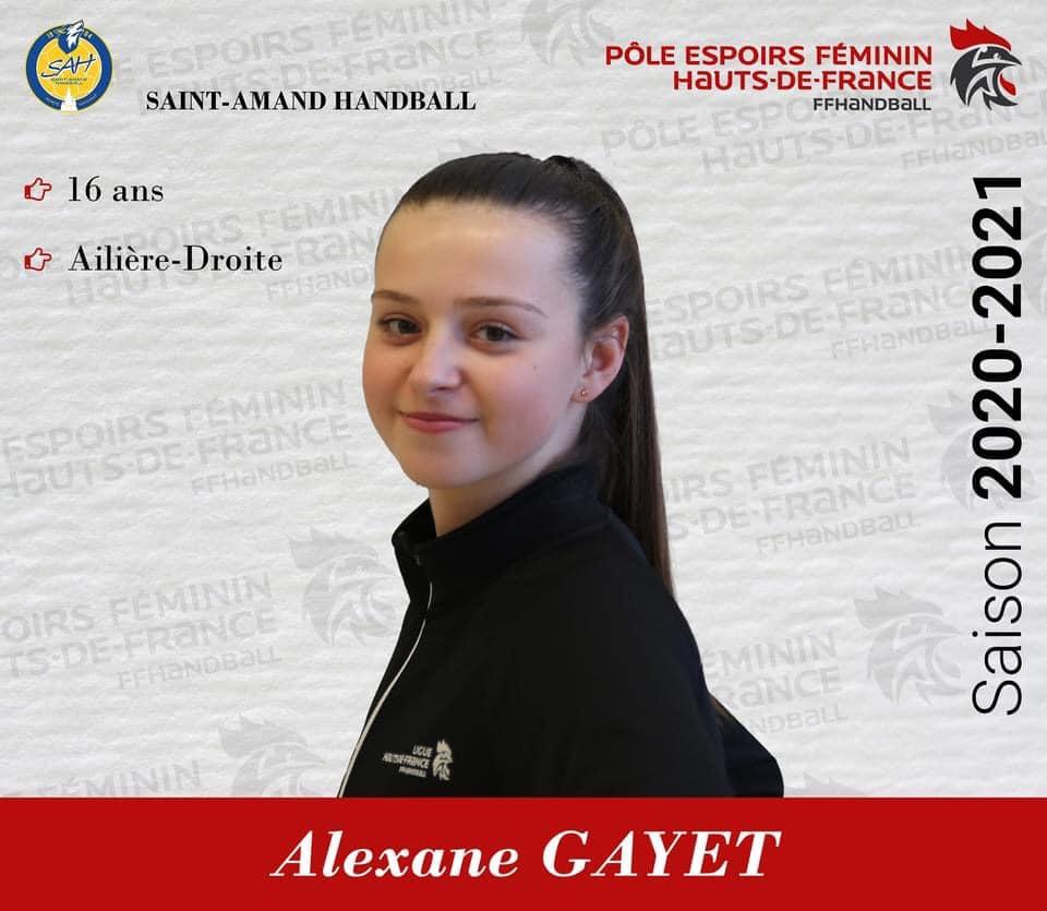 Gayet Alexane 2020-2021
