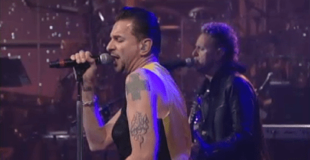 Depeche Mode David Letterman