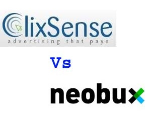 Make Money Online - Neobux Vs Clixsense