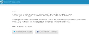 share your blog - create a wordpress blog