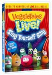 cover of Veggie Tales Sing Yourself Silly DVD