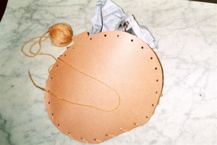 pumpkin craft stuffed