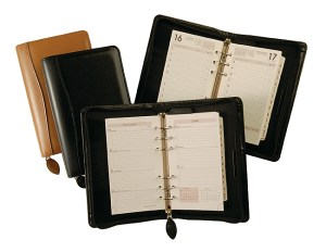 leather journals and calendars