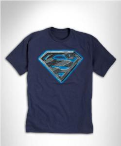 SUPERMAN LOGO GRAPHIC TEE
