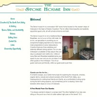 Converted HTML site to WordPress so client can edit; StoneHouseInn.net
