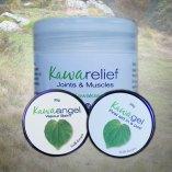 collection of different kawakawa creams
