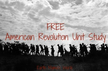 FREE American Revloution Unit Study