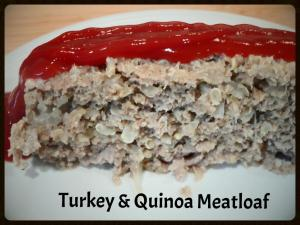 Turkey & Quinoa Meatloaf