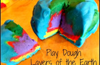 Layers of the Earth w/ Play Dough