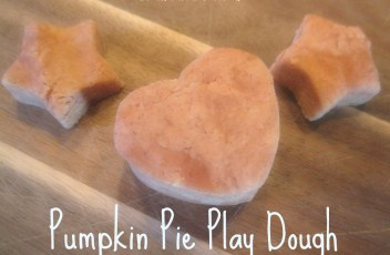 pumpkin play doh