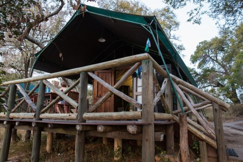 Our deck, which overlooked the Timbavati River