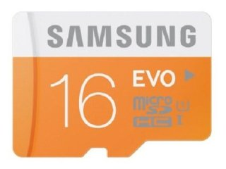 Samsung Evo 16GB Class 10 micro SDHC memory card upto 48Mbps speed
