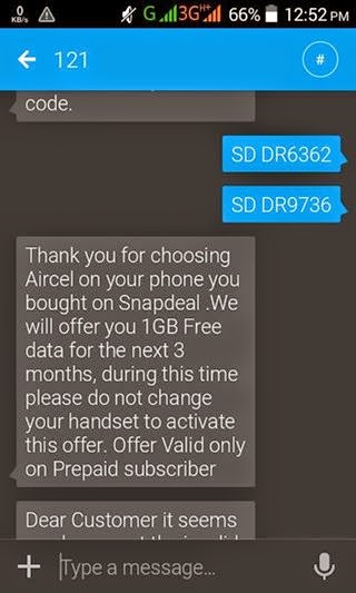 Aircel 3G 3GB Data Trick 100% Working 2016 [UPDATED]