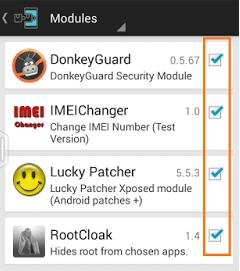 xposed module
