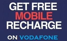 my vodafone app free recharge
