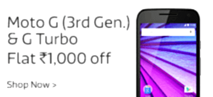 1000 off on moto g 3rd turbo