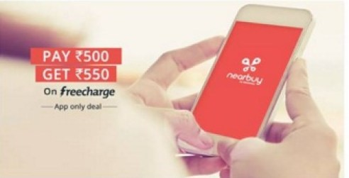 nearbuy freecharge offer