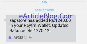 Free Paytm Casg Loot Trick Free Recharge