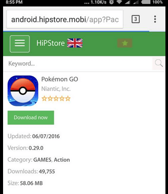 android pokemon go install steps