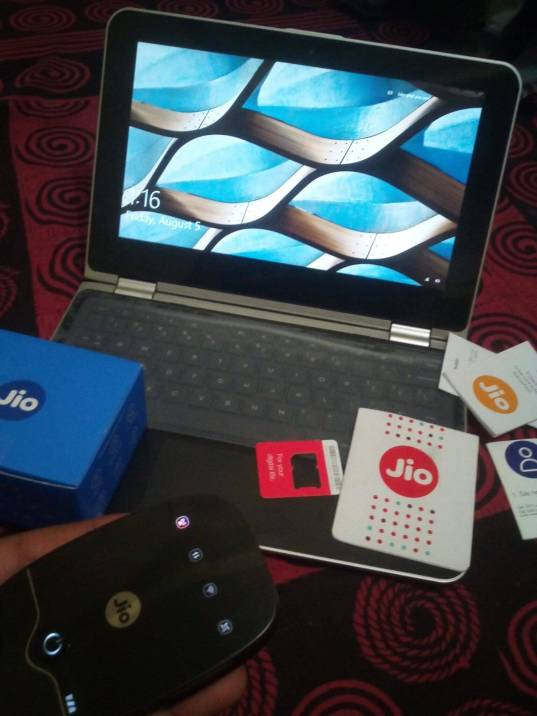 JIO 4G Preview offer for HP laptops