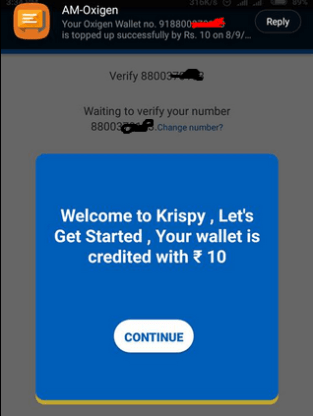 welcome krispy app